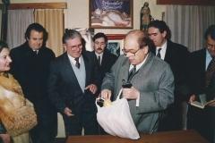 Visita del Molt Hble. President de la Generalitat de Catalunya Jordi Pujol 18-1-1992