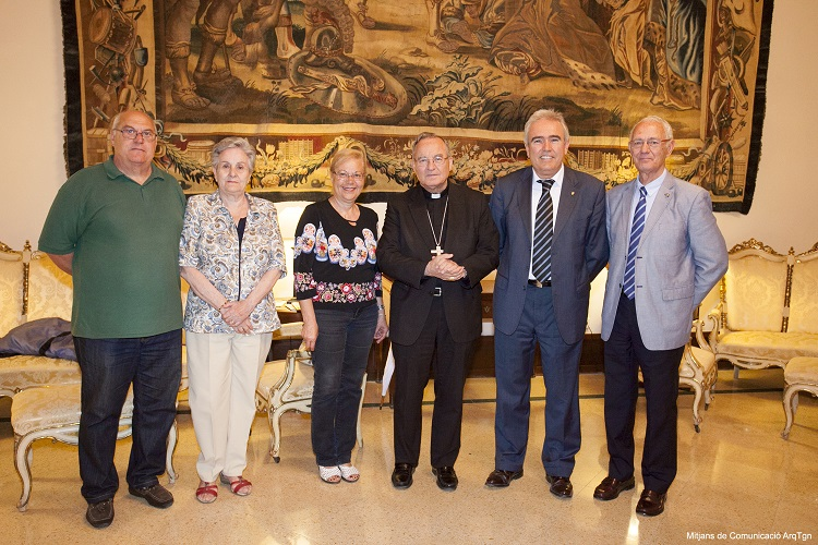 Visita Sr. Arquebisbe 28 juny